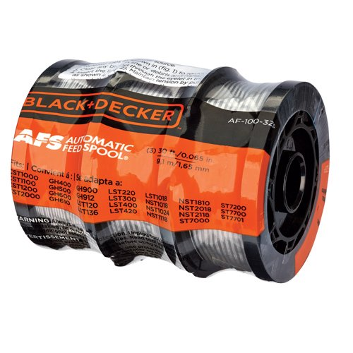 """Black and Decker 30ft 0.065"""" Line String Trimmer Replacement Spool"""