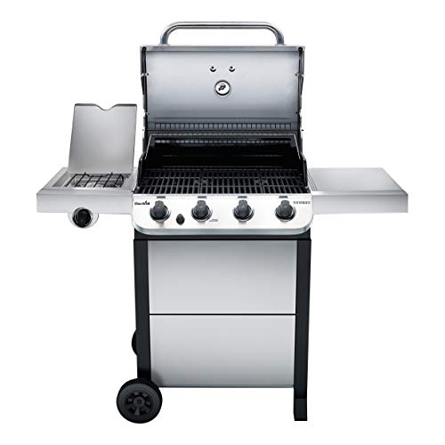 Char-Broil Performance Stainless Steel 4-Burner Cart Style Gas Grill Char-Broil 463377319 Performance Stainless Steel 4-Burner Cart Style Gas Grill.