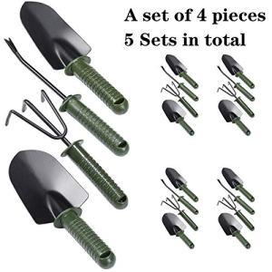 LUCK & TRUST Mini Garden Tool Set,Gardening Kit with Non-Slip Handle
