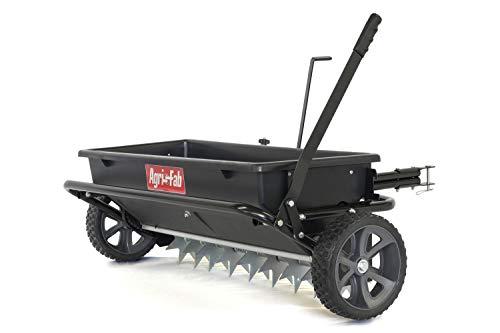 Agri-Fab 100 lb. Tow Spiker/Seeder/Spreader, Black