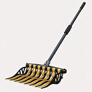 Noble Outfitters Wave Manure Pitch Fork an Unbreakable, Lightweight