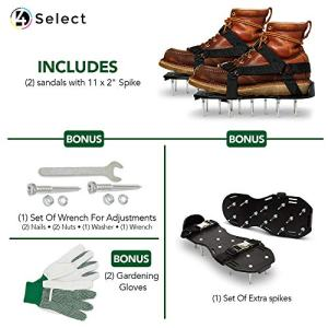Lawn Aerator Shoes - Garden/Yard/Grass/Fertilizer/Tools Are you in search of a better technique to keep your garden? Look no additional than our aerator footwear!