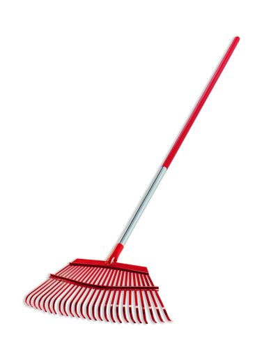 Corona Fixed Tine Leaf Rake, Aluminum Handle