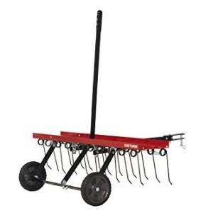 Craftsman Detatcher Tow Lawn Dethatcher, Red