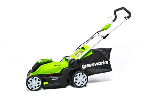 Greenworks 17-Inch 40V Cordless Lawn Mower, 4.0 AH Battery Included Greenworks 17-Inch 40V Cordless Lawn Mower, 4.0 AH Battery Included MO40B411.