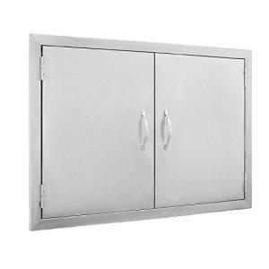 """Mophorn Outdoor Kitchen Access Door 30.5""""X 21"""" Double Wall"""