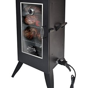 "Masterbuilt 30162EW Electric Smoker with Window, 30"", Black"