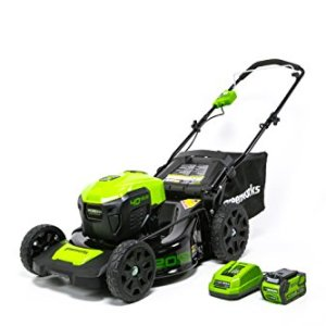 GreenWorks 40V 20-Inch Cordless 3-in-1 Lawn Mower