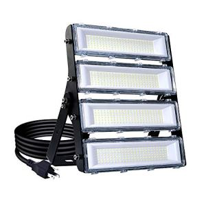 200W LED Flood Light Outdoor, 18000lm 6000K Super Bright Yard Security Lights