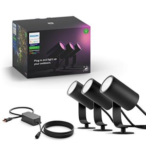 Philips Hue Lily White & Color Outdoor Spot Light Base kit