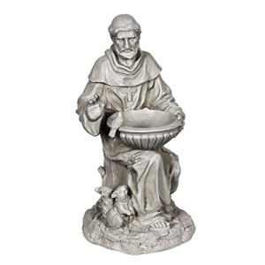 Exhart St. Francis of Assisi Garden Statue - Durable Resin Statue of Saint Francis