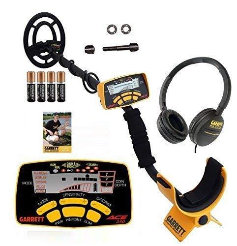 Garrett Metal Detector with Submersible Search Coil Plus Headphones