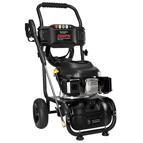 HUMBEE Tools 3,200 Psi Gas Powered Pressure Washer, Black