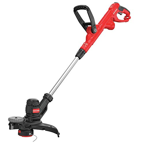 CRAFTSMAN String Trimmer, 14-Inch, 6.5-Amp, Push Button Feed System