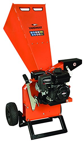 """YARDMAX YW7565 Chipper Shredder, 3"""" Diameter, Briggs & Stratton"""