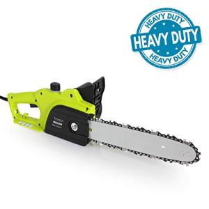 8 Amp Electric Corded Chainsaw - High Power Handheld Tree Pruner