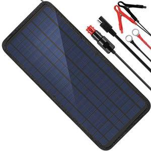 MOOLSUN 12 Volt 12v Solar Battery Charger, 10W Solar Car Battery Charger