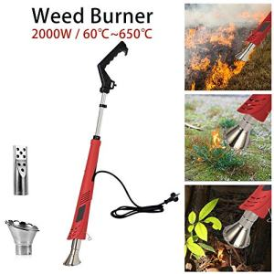 Electric Weed Burner, Weed Killer, Thermal Weeding Stick, Barbecue Igniter