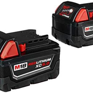 Milwaukee M18 REDLITHIUM XC 5.0 Ah Extended Capacity Battery
