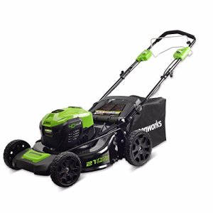 Greenworks 21-Inch 40V Self-Propelled Cordless Lawn Mower, Battery Not Included