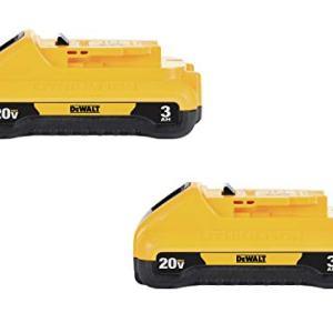 DEWALT 20V MAX Battery Pack, 3.0-Ah, 2-Pack