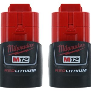 Milwaukee (2-pack) M12 RED Li-Ion Battery Packs