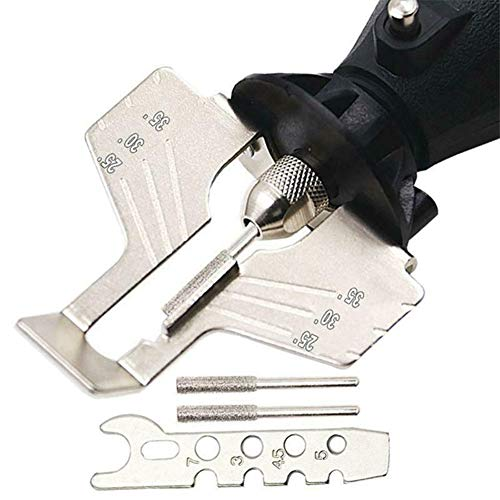 Kiode Sawtooth Grinding Tool Accessories, Chain Saw Sharpening Kit Grinding Tool