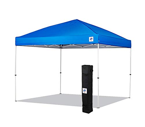 NEW E-Z UP Envoy Instant Shelter Canopy, 10 by 10', Royal Blue
