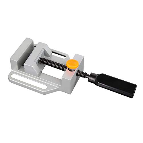 POWERTEC R71044 DuBois Aluminum Drill Press Vise, Quick Release Edition