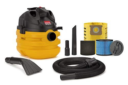 Shop-Vac 5870210 5 Gallon 6.0 Peak HP Portable Contractor Wet Dry Vacuum, Black