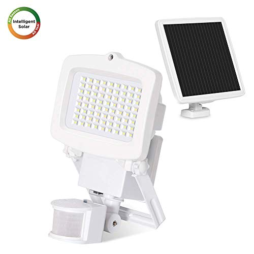 Westinghouse Solar Lights Outdoor 2000 Lumens Solar Motion Sensor Lights with 130°Wide Angle Security Flood Light Easy-to-Install Weather Resistant LED Solar Light Lighting for Front Door,Garage,Yard