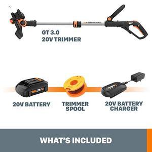 """WORX WG163 GT 3.0 20V PowerShare 12"""" Cordless String Trimmer & Model: WORX"""