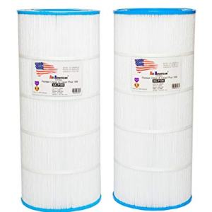 2 Pack Replacement for Pentair Clean and Clear 100 R173215 590542, Unicel C-9410, Pleatco PAP100, Filbur FC-0686 All American AA-P100 Replacement Swimming Pool Filter Cartridge