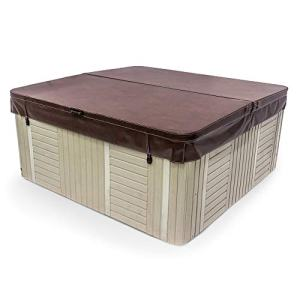 84 x 84 Inch Replacement Spa Cover and Hot Tub Cover - Brown