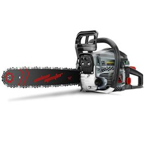 SALEM MASTER 5820F 58CC 2-Cycle Gas Powered Chainsaw, 16-Inch Chainsaw, Handheld Cordless Petrol Gasoline Chain Saw for Farm, Garden and Ranch