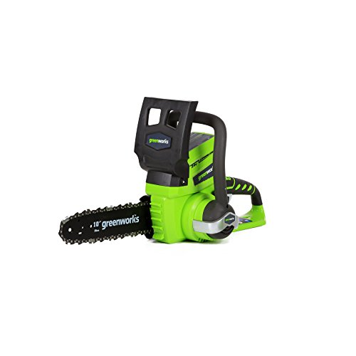 Greenworks 10-Inch 24V Cordless Chainsaw, Battery Not Included 2000102