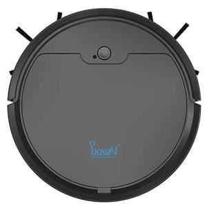 Best4UrLife Smart Navigating Robotic Vacuum Cleaner,Vacuum and Mop Robotic Vacuum Cleaner, Auto Robotic Vacuum Dry Wet Mopping Cleaner,Strong Suction, Quiet (Black)