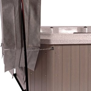 Smart Spa CoverClassic Classic Hot Tub Cover Lifter, One Size, Black