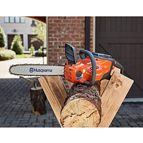 Husqvarna 14 Inch 120i Cordless Battery Powered Chainsaw (Battery Included),Orange