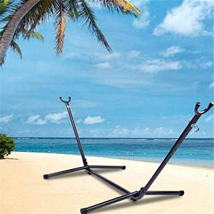 qwepoi Hammock Stand,Hammock Accessory Portable Hammock Stand Black Background & Silver Flower,Universal Multi-Use Heavy-Duty.