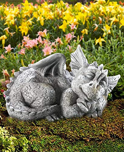CT DISCOUNT STORE Adorable Mythical Creature Baby Sleeping Dragon (Dragon Facing Right)