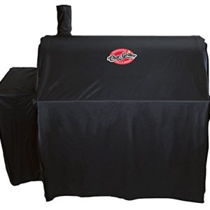 Char-Griller 3737 Outlaw Expandable Grill Cover, Black