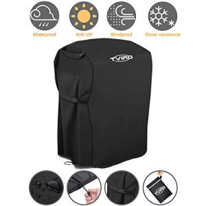 Tvird BBQ Grill Cover 30-inch Waterproof Heavy Duty Gas Grill Covers Fits for Barbeque Grill of Weber, Brinkmann, Char Broil, Holland and More | Rip-Proof and Anti-UV | Oxford Fabric BBQ Cover