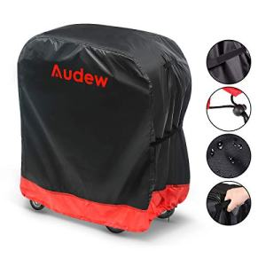 Audew BBQ Grill Cover, Gas Grill Covers | 32-inch Light Duty BBQ Cover Waterproof/UV and Fade Resistant/Dust-Proof/Rip-Proof,Fits Most Brands Weber,Char Broil,Holland, Jenn Air,Brinkmann