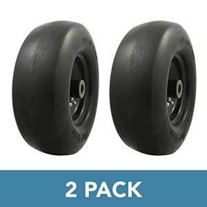 MARASTAR Universal Fit Flat Free 11x4.00-5 Lawnmower Tire Assembly Package deal Dimensions: 10.Eight x 4.zero x 10.Eight inches