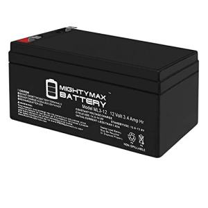 Mighty Max Battery ML3-12 Replacement for Toro Lawn Mower # 106-8397 BATTERY-12 Volt Brand Product
