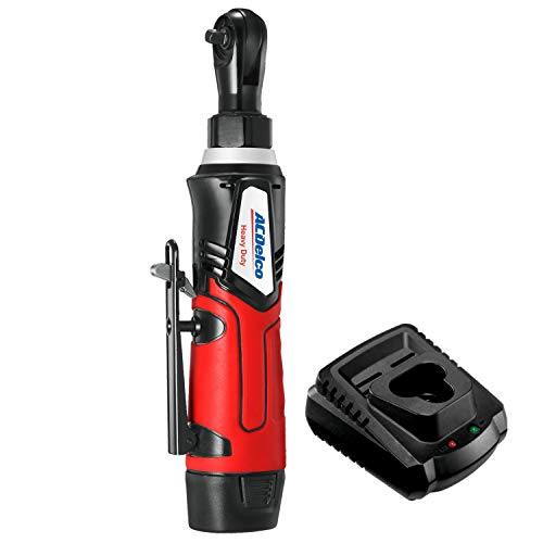 """G12 Cordless 1/4"""" Ratchet Wrench 30 ft-lbs 240 Rpm Tool Set with 1 Li-ion Batteries - Regular Charger, ARW1207"""