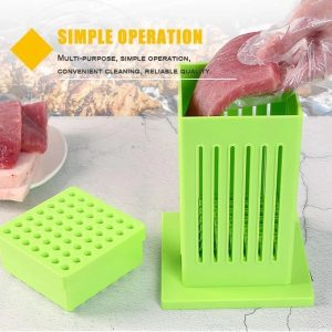 Meat Skewer Maker Box BBQ 49 Holes Meat Skewer