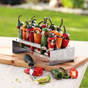 Corer Set Barbecue Chili Pepper Roast 18 Hole Cook