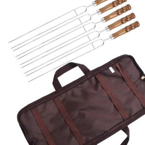 5PCS Barbecue Skewers U-Shaped BBQ Forks Set
